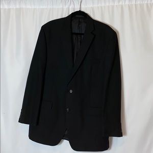 VTG IZOD PADDED BREAST BLACK Work Jacket